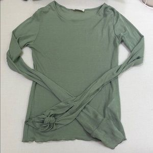 Light green Zara long sleeve